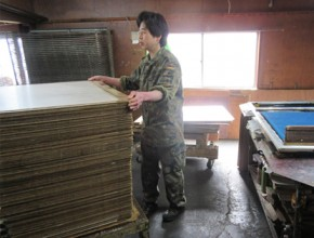 有限会社近藤和紙染工芸 製造プロセス1